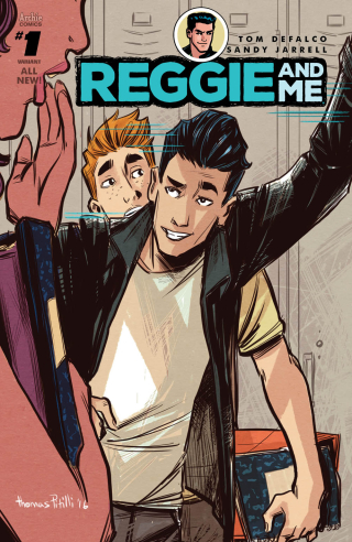 Reggie and Me #1 cover