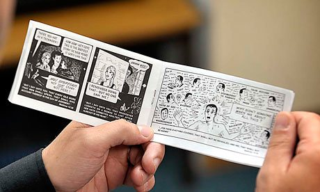Jack Chick open booklet