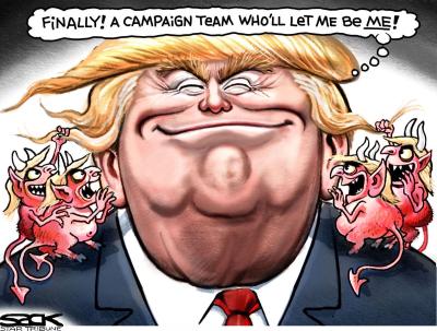 Sack Trump