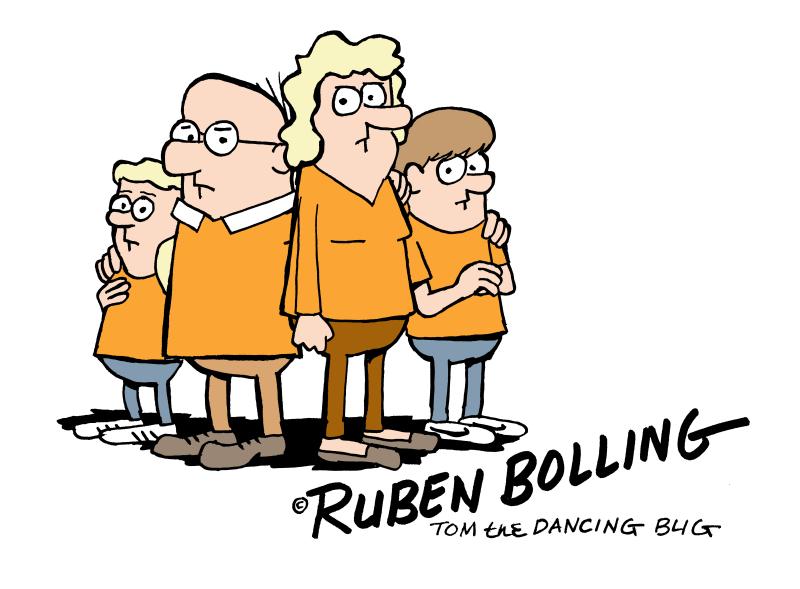 2017 orange TOM THE DANCING BUG chagrin falls