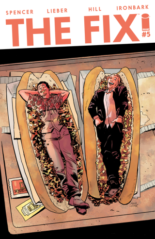 The Fix #5 cover