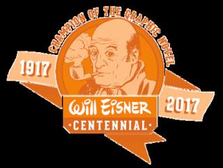 Will Eisner Centennial logo