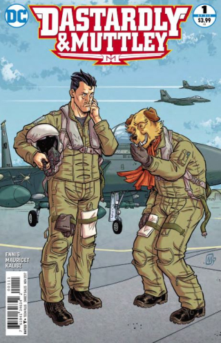 Dastardly & Muttley cover