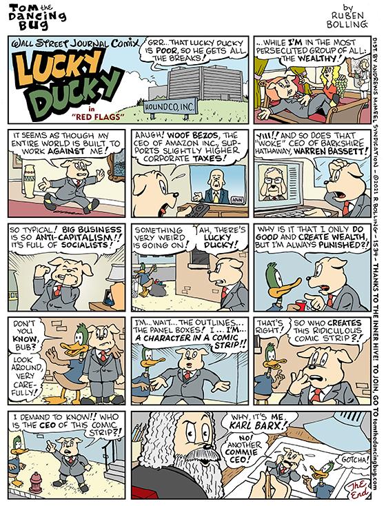 1534cMC lucky ducky - commie ceos