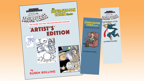 Super fun tom the dancing bug book package extras image