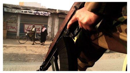 Framed_steward_at_war_rifle_3